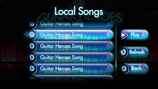 Guitar heroes 2: Audition screenshot 3