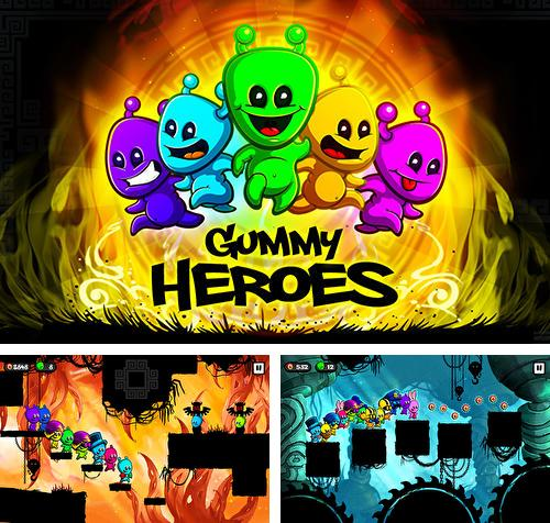 In addition to the game Kidarian adventures for Android phones and tablets, you can also download Gummy heroes for free.