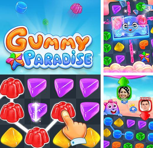 In addition to the game Mighty runner for Android phones and tablets, you can also download Gummy paradise for free.