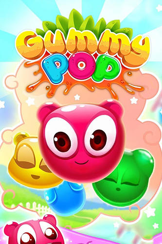 Gummy pop: Chain reaction game poster