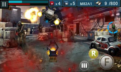 Screenshots von Gun & Blood für Android-Tablet, Smartphone.
