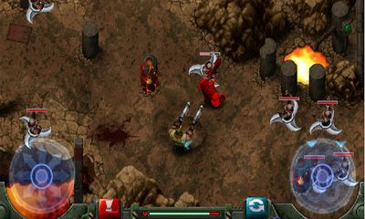 Screenshots do Gun Bros - Perigoso para tablet e celular Android.