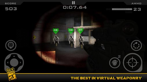 Screenshots of the Gun club 3: Virtual weapon sim for Android tablet, phone.