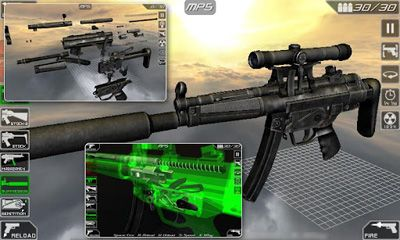 Screenshots von Gun disassembly 2 für Android-Tablet, Smartphone.