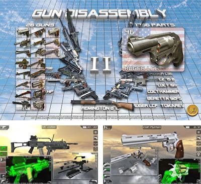 In addition to the game Disassembly 3D for Android phones and tablets, you can also download Gun disassembly 2 for free.