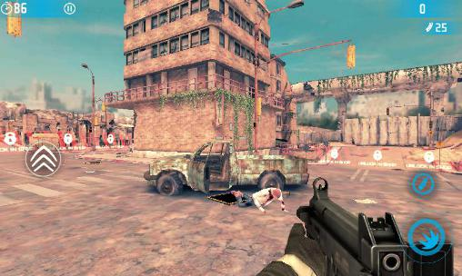 Screenshots von Gun master 3: Zombie slayer für Android-Tablet, Smartphone.