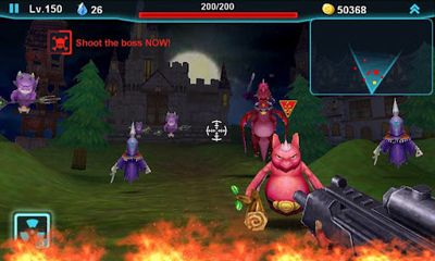 Screenshots of the Gun of Glory for Android tablet, phone.