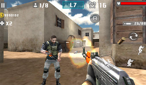 Gun shot fire war screenshot 1