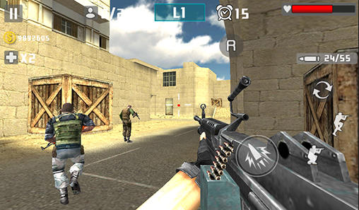 Gun shot fire war screenshot 4