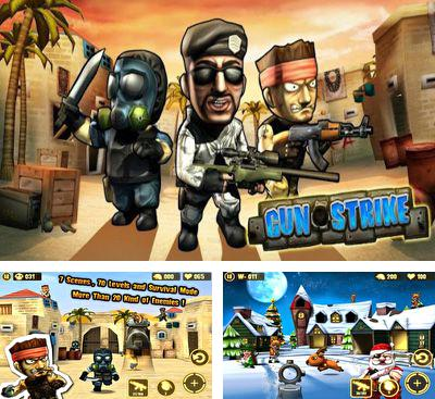 In addition to the game Guerrilla Bob for Android phones and tablets, you can also download Gun Strike for free.