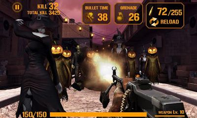 Zombie shooter 3D screenshot 2
