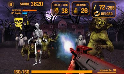 Zombie shooter 3D screenshot 3