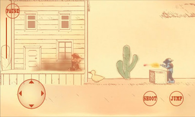 Screenshots do Gunman Clive - Perigoso para tablet e celular Android.