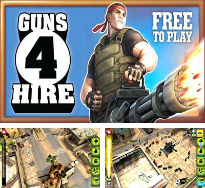 In addition to the game Death Rally Free for Android phones and tablets, you can also download Guns 4 Hire for free.