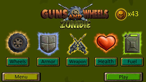 Screenshots do Guns and wheels zombie - Perigoso para tablet e celular Android.