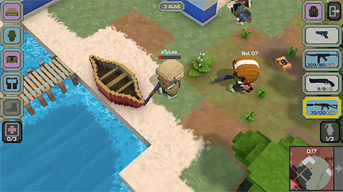 Guns royale: Multiplayer blocky battle royale скриншот 5