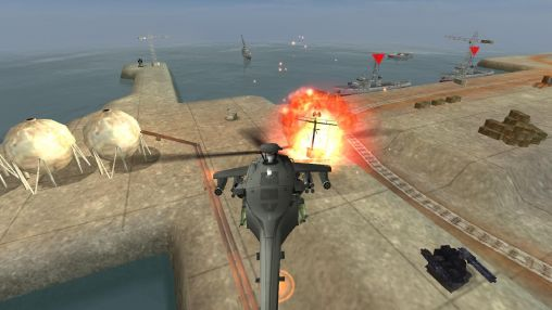 Screenshots von Gunship battle für Android-Tablet, Smartphone.