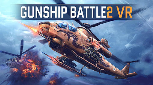 Gunship battle 2 VR обложка