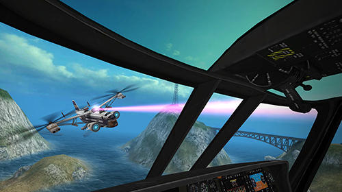 Gunship battle 2 VR скриншот 2