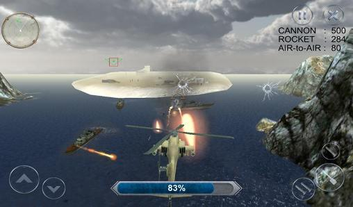 Gunship combat: Helicopter war screenshot 1