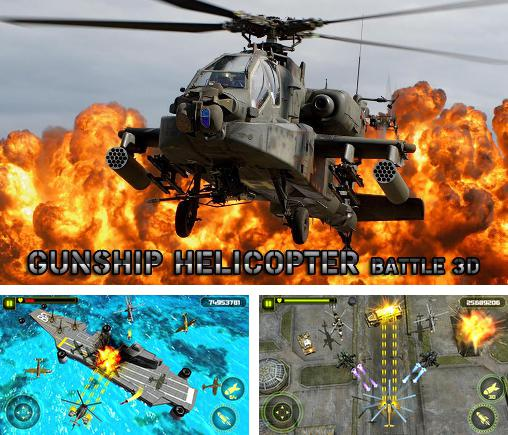 Gunship helicopter: Battle 3D