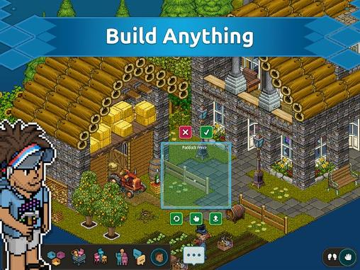 Screenshots von Habbo für Android-Tablet, Smartphone.