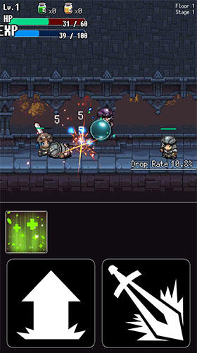 Hack and slash hero: Pixel action RPG скриншот 2