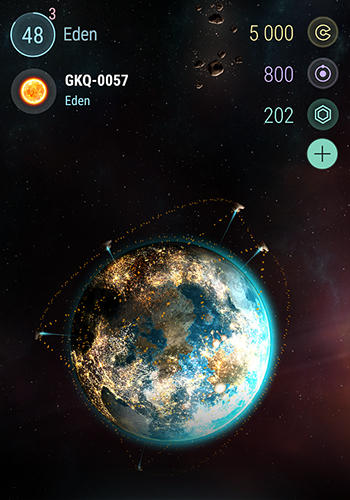 Screenshots do Interstellar defense - Perigoso para tablet e celular Android.