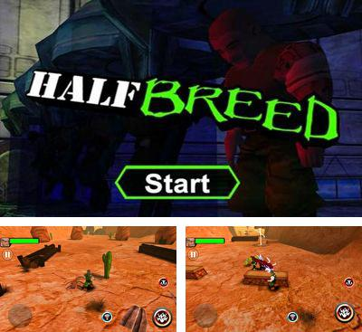 In addition to the game Builders War for Android phones and tablets, you can also download Half Breed for free.