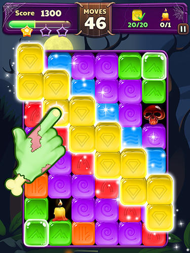 Halloween blast: Crush the cubes screenshot 5