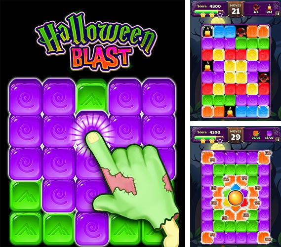 Halloween blast: Crush the cubes