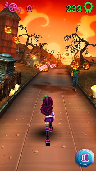 Halloween runner screenshot 1