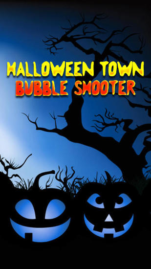 Halloween town: Bubble shooter