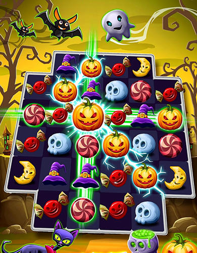 Jogue Halloween witch connect para Android. Jogo Halloween witch connect para download gratuito.