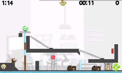 Screenshots of the Hamster Attack! for Android tablet, phone.