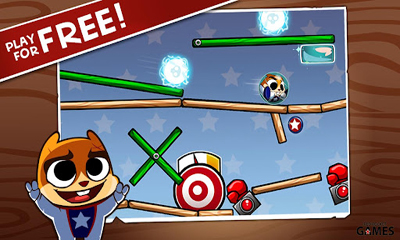 Screenshots of the Hank Hazard. The Stunt Hamster for Android tablet, phone.
