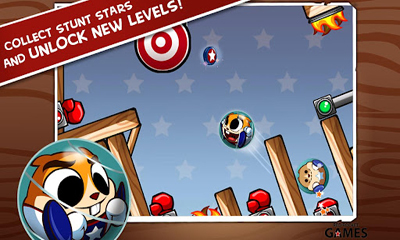 Screenshots von Hank Hazard. The Stunt Hamster für Android-Tablet, Smartphone.
