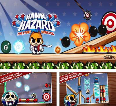 In addition to the game The Marbians for Android phones and tablets, you can also download Hank Hazard. The Stunt Hamster for free.