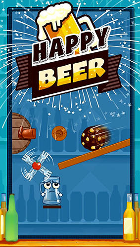 Happy beer glass: Pouring water puzzles poster