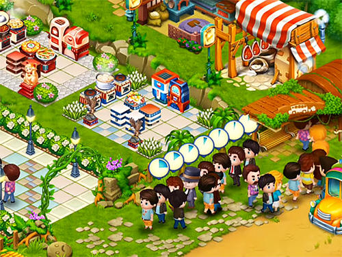 Happy cafe screenshot 1