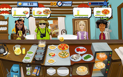 Jogue Mary le chef: Cooking passion para Android. Jogo Mary le chef: Cooking passion para download gratuito.