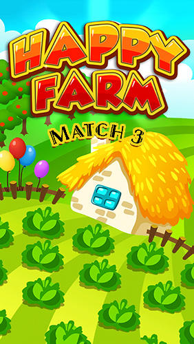 Happy hay farm world: Match 3 poster
