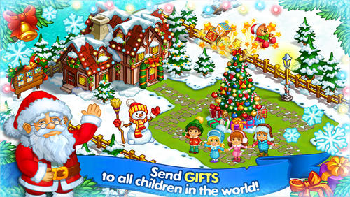 Happy new year farm: Christmas screenshot 1