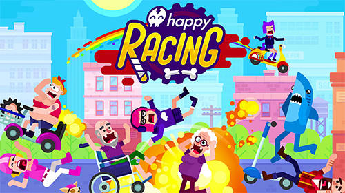 Happy racing poster