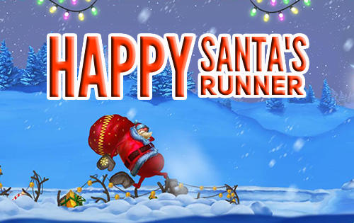 Happy Santa's runner