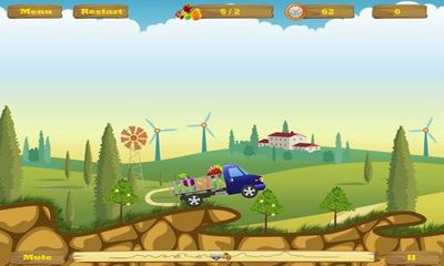 Screenshots do Happy Truck - Perigoso para tablet e celular Android.