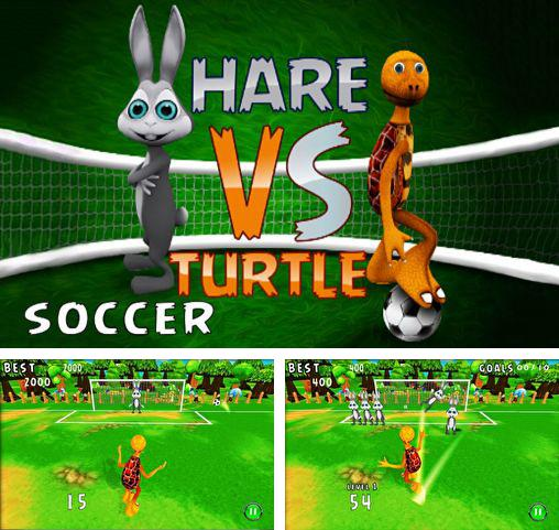 In addition to the game Saving Hamster Go Go for Android phones and tablets, you can also download Hare vs turtle soccer for free.