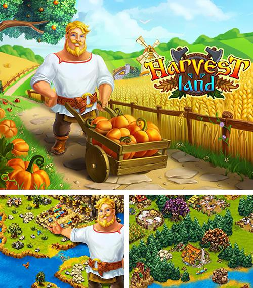 Harvest land. Slavs: Farm