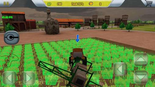 玩安卓版Harvester simulator: Farm 2016。免费下载游戏。
