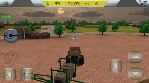 Screenshots von Harvester simulator: Farm 2016 für Android-Tablet, Smartphone.